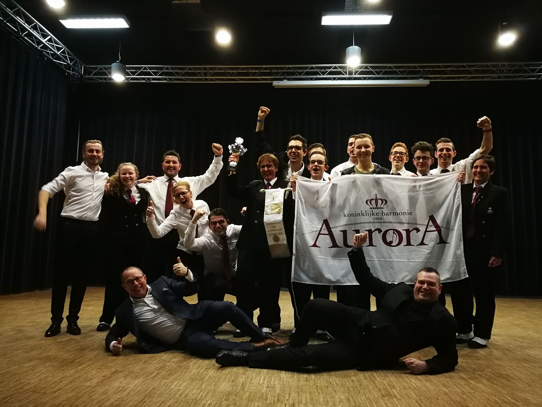 Drumband Aurora Limburgs Kampioen