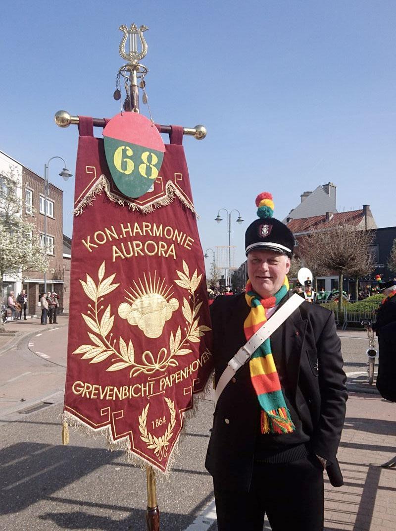 Aurora is ook ieder jaar paraat tijdens meerdere optochten rondom de carnaval!